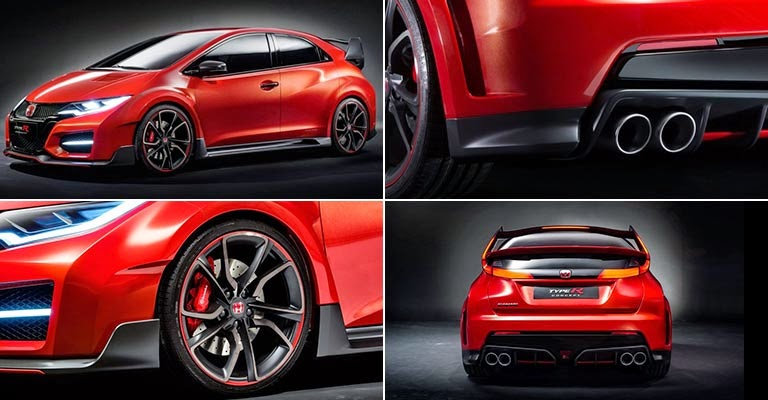 Honda civic type r 2015 Design