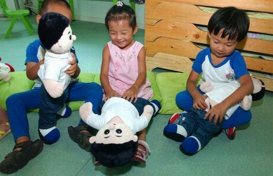 Cara Budak Tadika di China Diajar  Pendidikan Seks