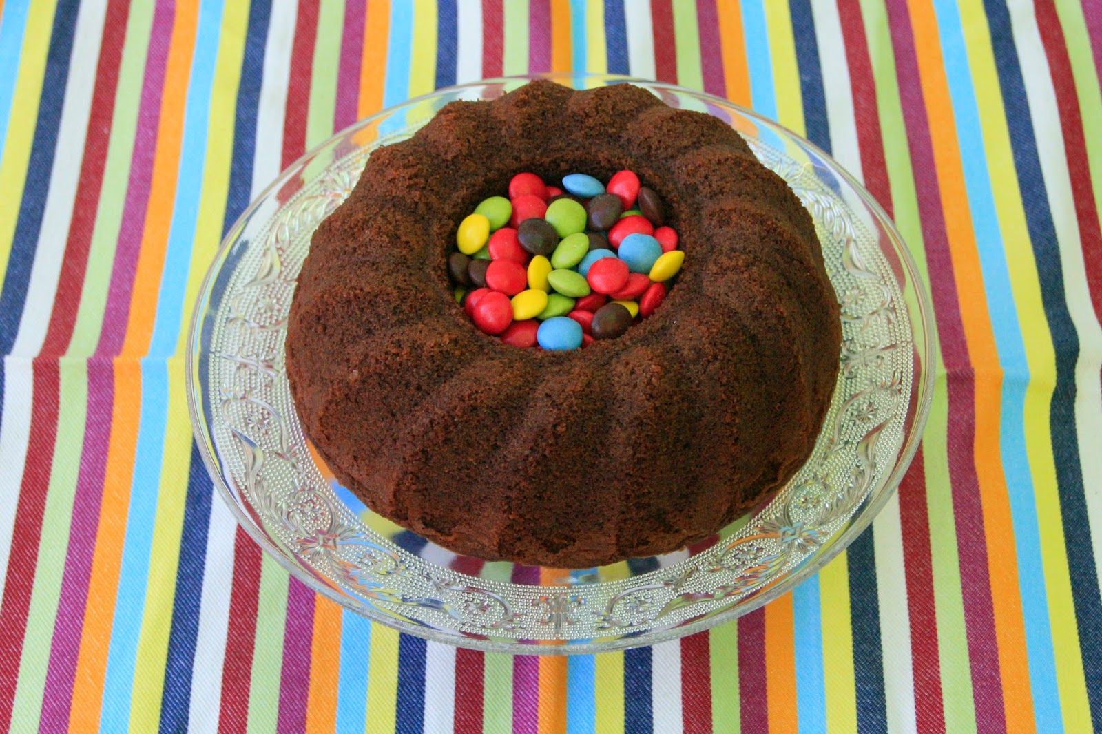Increible bundt cake de xocolata per esmorzar