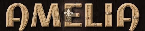 Decorated Wood Text Effect - Tutorial Photoshop