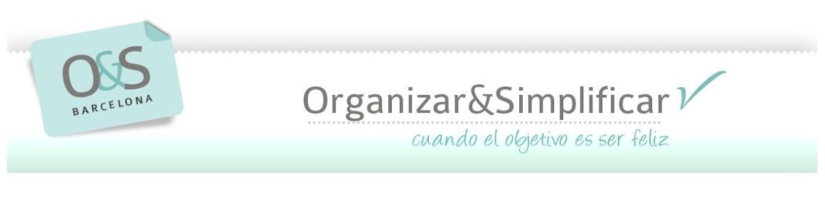 Organizar y Simplificar