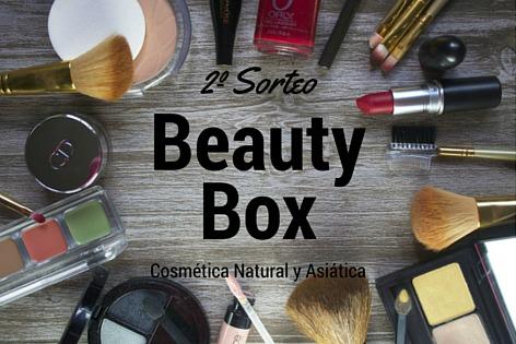 Sorteo Beauty Box Cosmética Natural y Asiática II