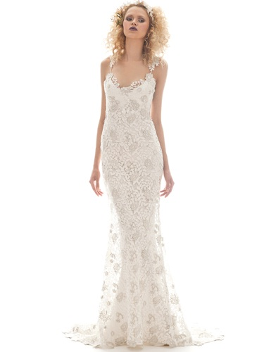 Elizabeth Fillmore 2013 wedding dresses: Flora