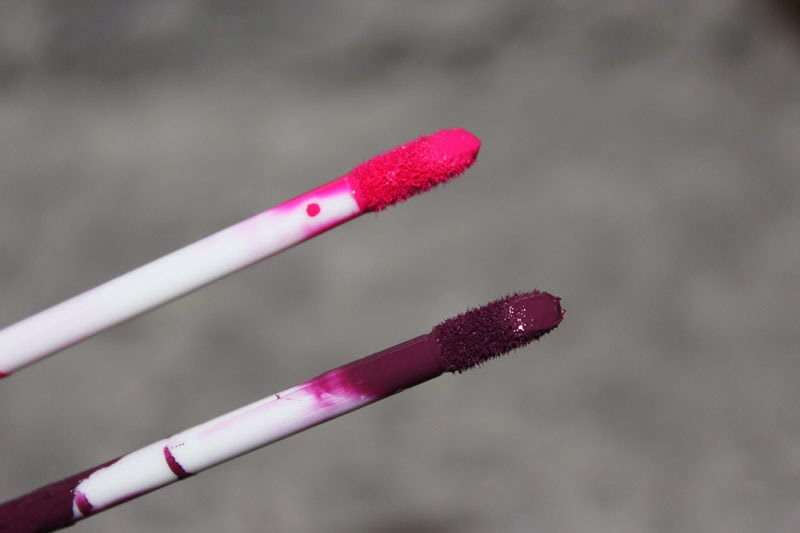 A picture of MUA LUXE Velvet Lip Lacquer in Criminal and Kooky