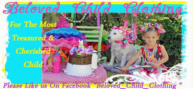 Beloved Child Clothing Boutique Custom Chidlrens  Clothing