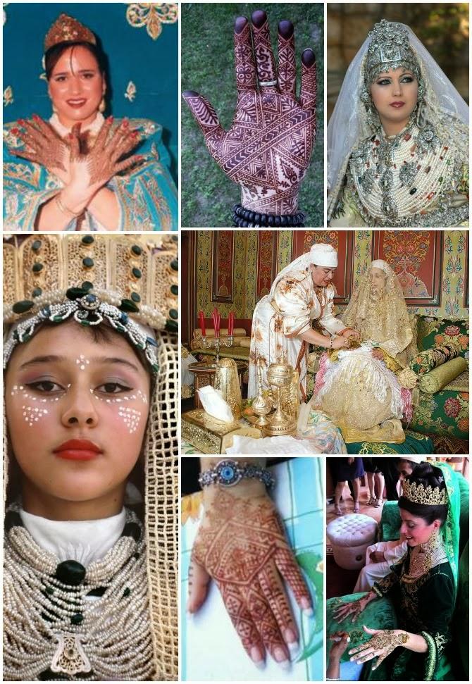 spose ed hennè tradizionale marocchino