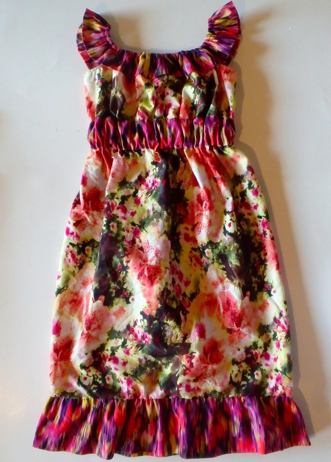 dress pattern for girls