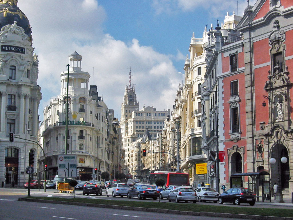 World Visits: Madrid City Spain Capital