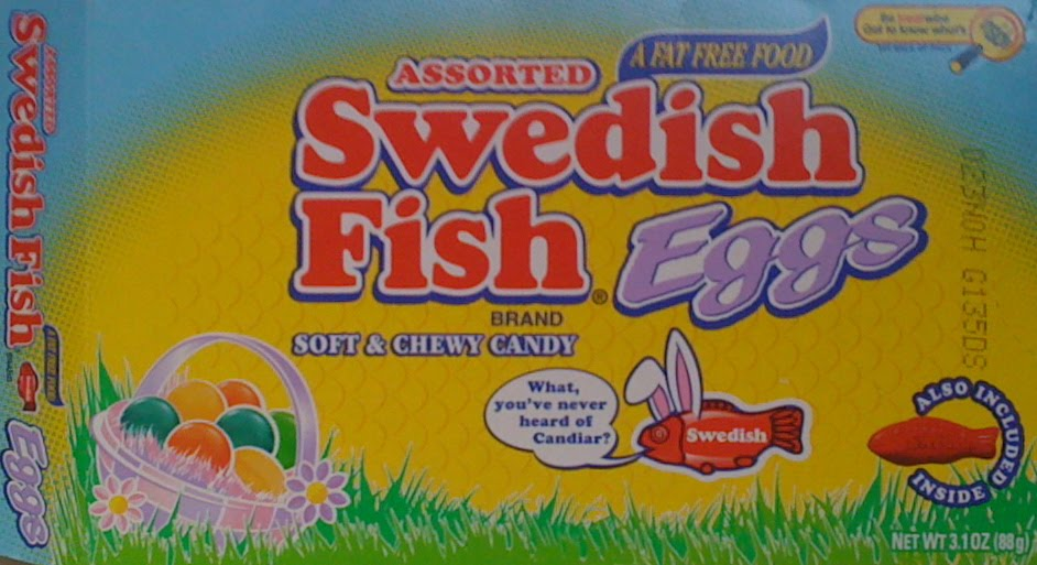 Obsessive sweets easter candy roundup swedish fish eggs for Swedish fish jelly beans