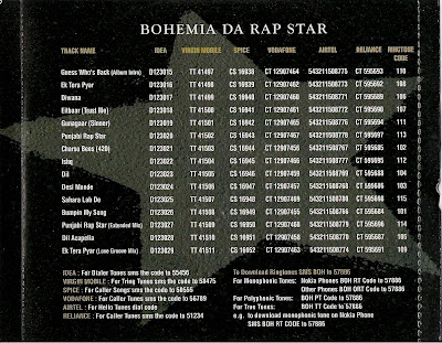 Bohemia Da Rap Star lyrics