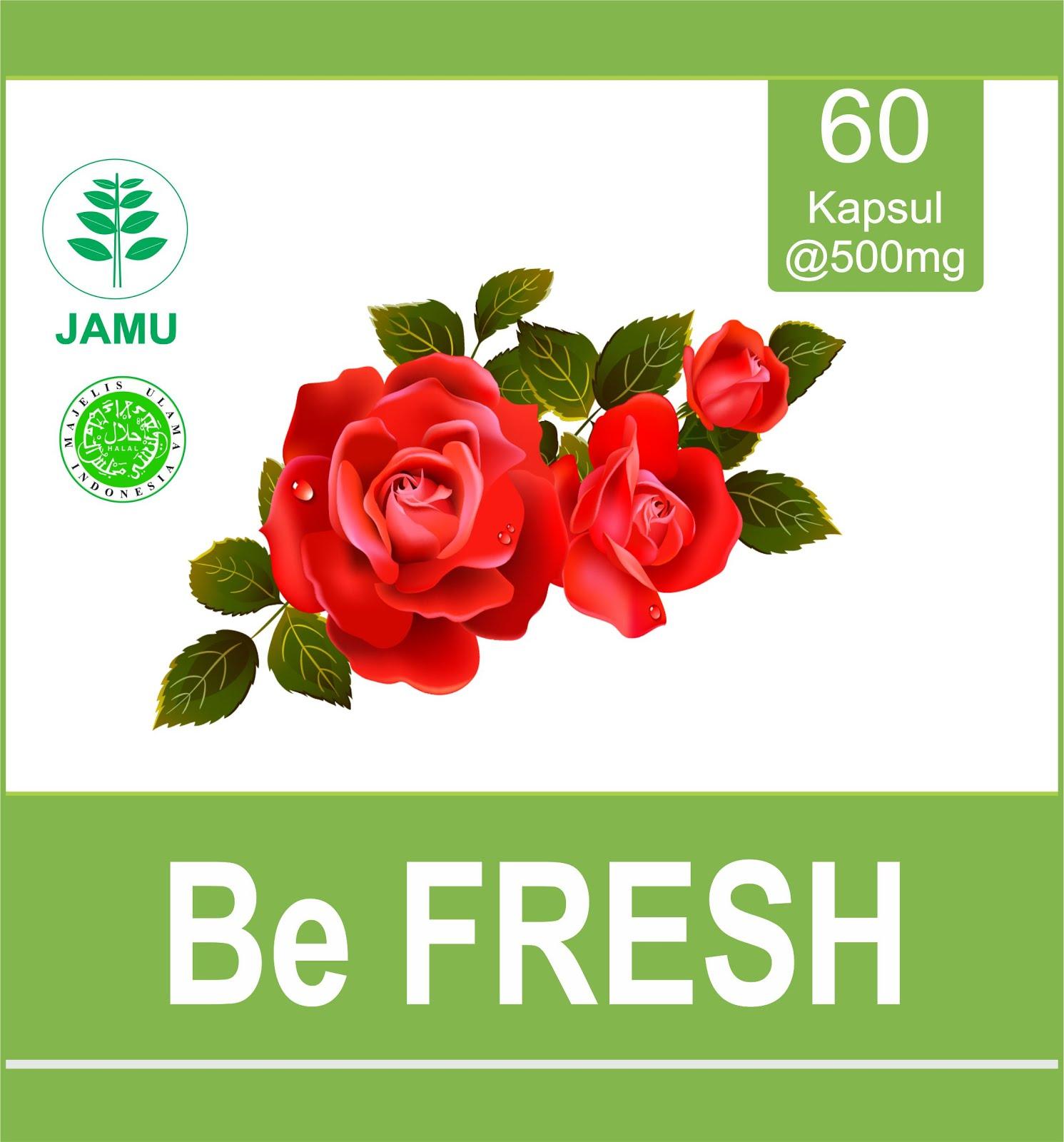 Be FRESH  @60 Kapsul Herbal