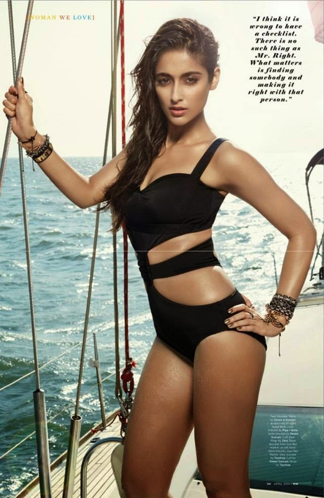 Ileana D'Cruz scorching hot photoshoot for MW magazine