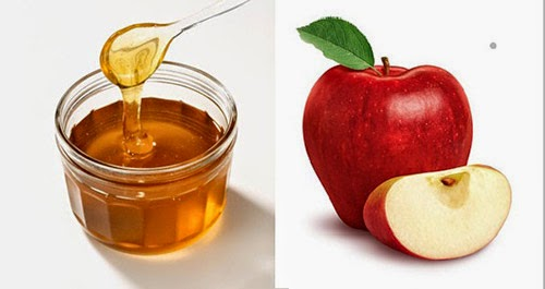 mặt nạ táo và mật ong