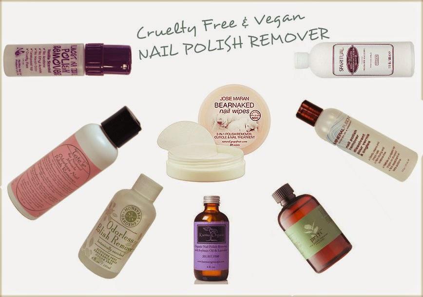 BunnyBeautyLove: Vegan & Cruelty Free Nail Polish Remover