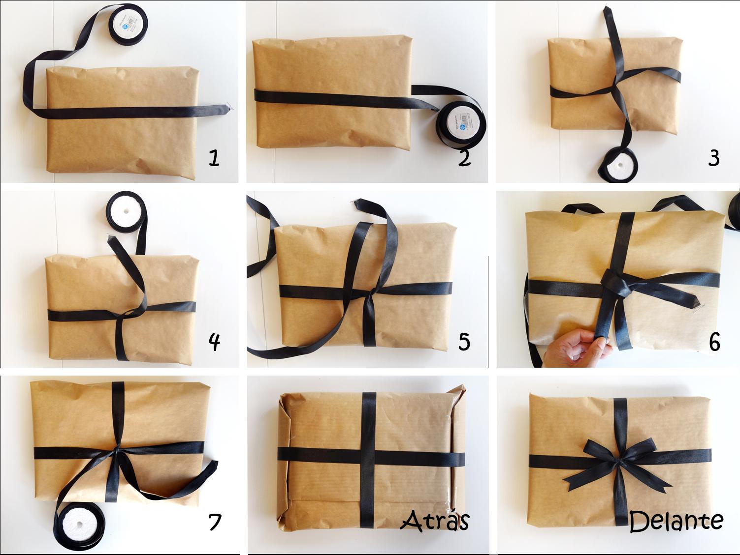 Mi papel preferido c mo envolver bien tus regalos - Ideas para hacer un cabecero original ...