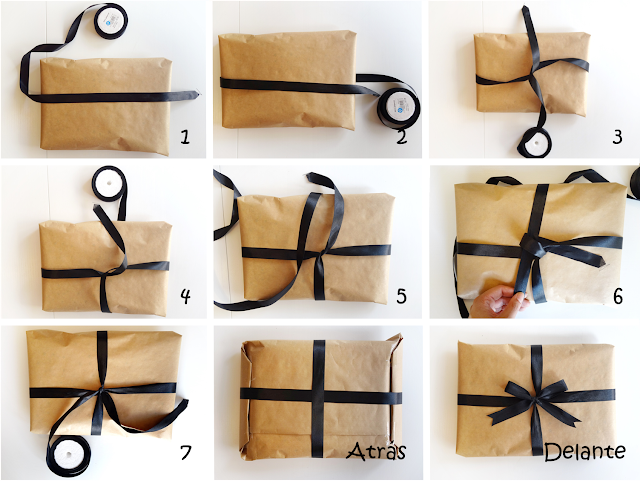 como hacer lazos para regalos paso a paso