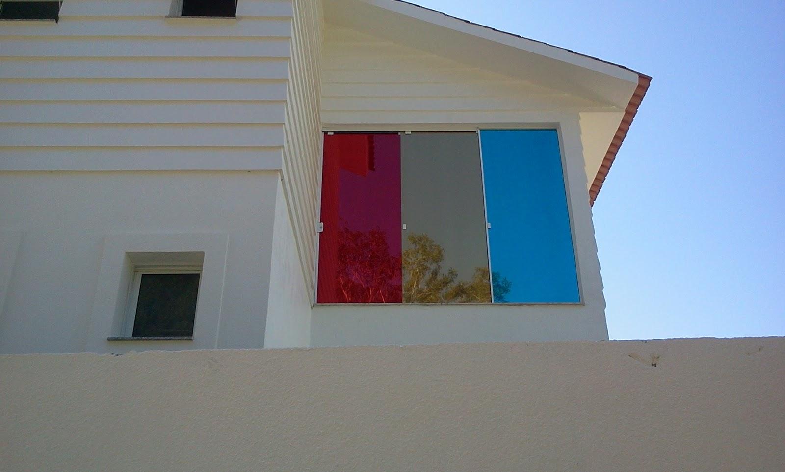 #0766C4 Construindo Minha Casa Clean: Película Residencial 738 Janelas Vidro Refletivo
