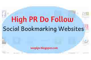 High-PR-Social-Bookmarking-sites