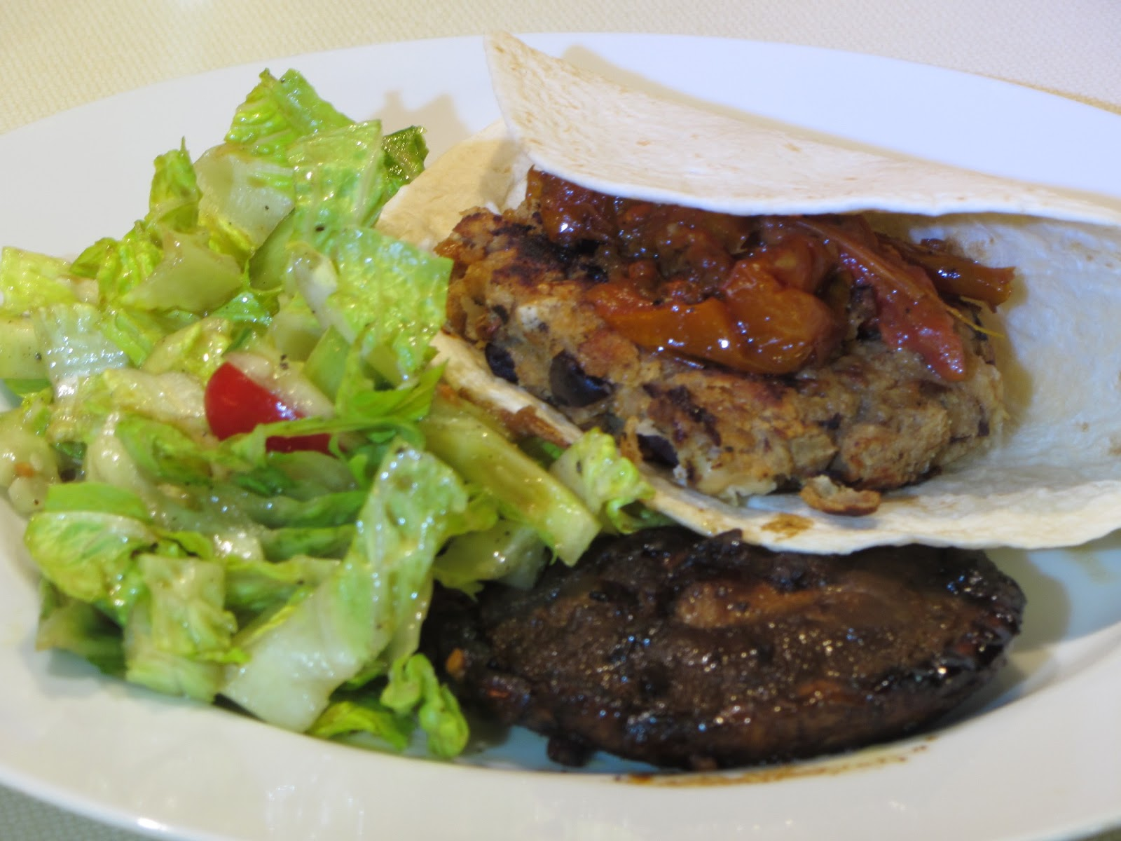 Tracy's Living Cookbook: Tuscan White Bean Burger ...