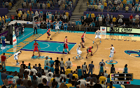 NBA 2K13 New Orleans Hornets Court Patch