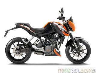 Harga KTM Duke 200 Spesifikasi Motor 2012