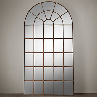 Restoration Hardware Palladian Mirror