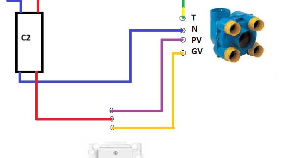 schema electrique schema installation vmc simple flux. Black Bedroom Furniture Sets. Home Design Ideas