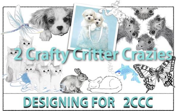 2 Crafty Critter Crazies DT