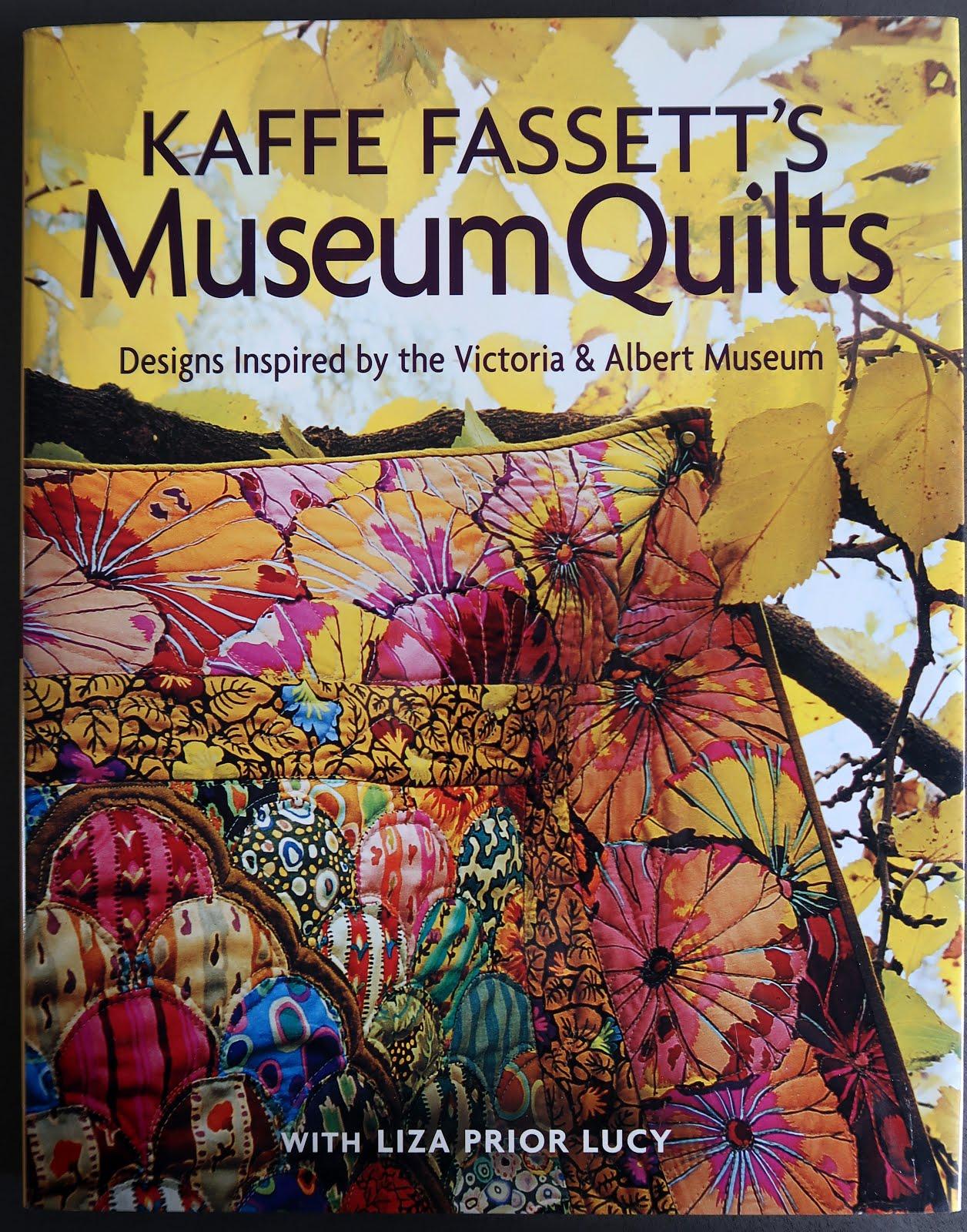 Only $16.99! Kaffe Fassett's Museum Quilts (click!)
