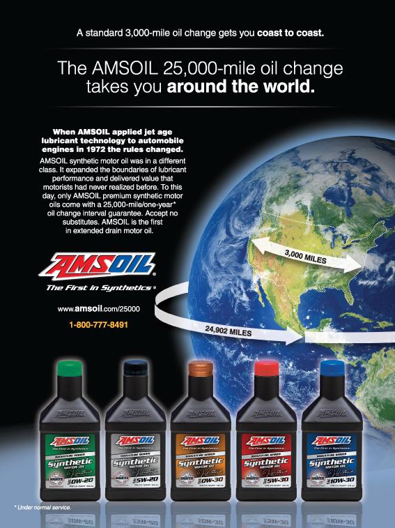 Amsoil Signature Series Showcased In Leading Magazines
