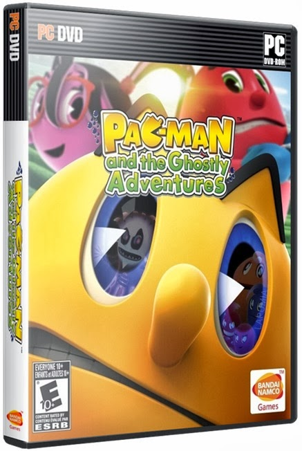 pac Download   Jogo Pac Man and The Ghostly Adventures RELOADED PC (2013)
