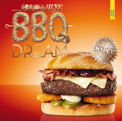 MAX Hamburgare Grand Deluxe BBQ Dream