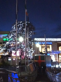 christmas, lights, dundrum