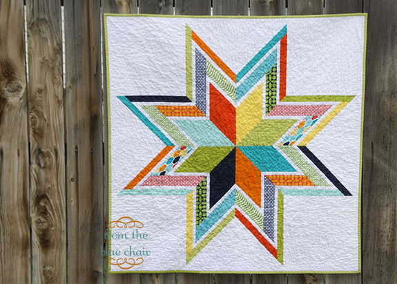 Baby Star Quilt--Finished!