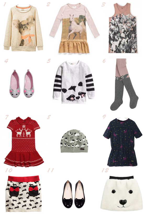 Seleccion moda niña otoño 2013 pequeña fashionista