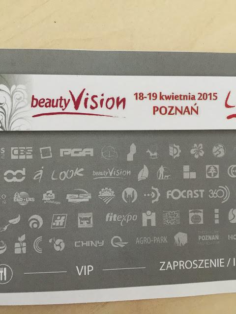 Zakupy z Targów BeautyVISION: 18-19 kwietnia 2015