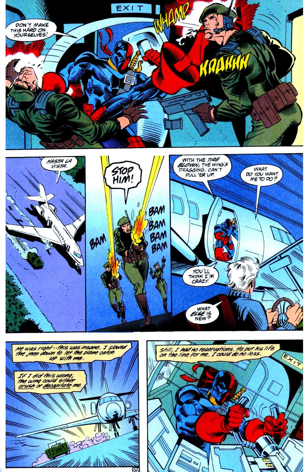 Deathstroke (1991) Issue #36 #41 - English 21