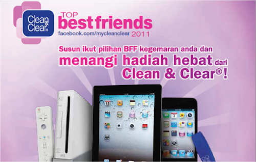 Clean & Clear 'Top Best Friends 2011 - Rank & Win' Contest