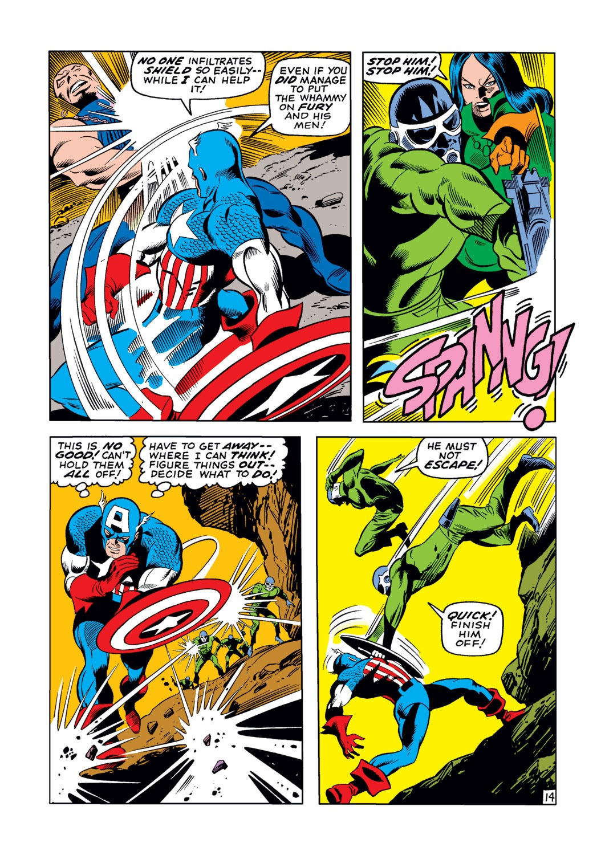 Captain America (1968) Issue #123 #37 - English 15