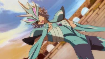Saint Seiya Omega Spear