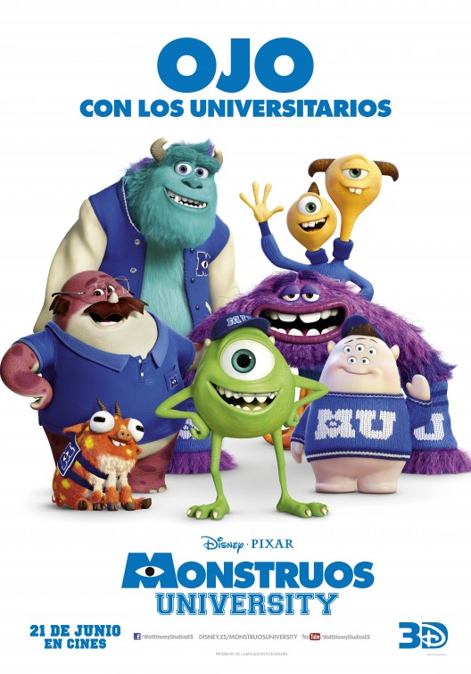 Monsters inc 2 trailer monsters university movie posters voltagebd Images