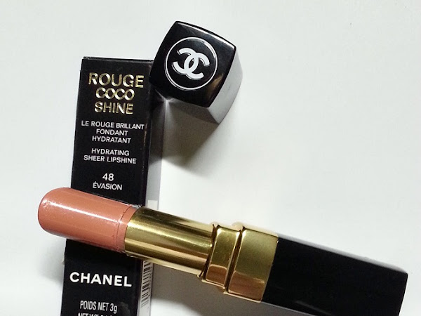Chanel Rouge Coco Shine №48 Evasion