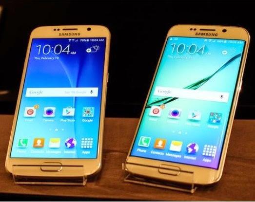 Samsung apresenta os novos Galaxy S6 e Galaxy S6 Edge