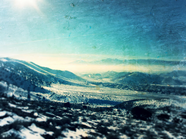 Rest in Natural Great Peace Snow Day Virginia Range Nevada by Beth Hemmila