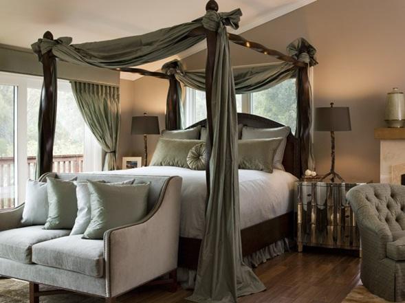 Decora y disena camas con dosel super romanticas - Camas estilo romantico ...