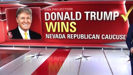 DONALD TRUMP WINS AGAIN, NEVADA.