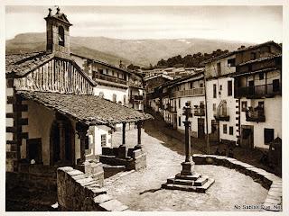 Candelario Salamanca vista parcial de Candelario