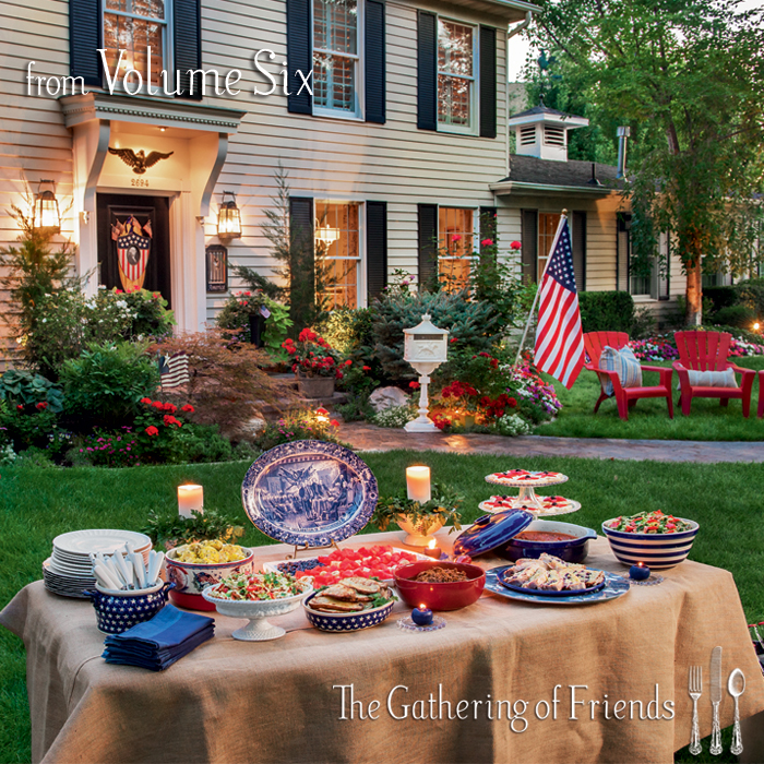 Patriotic Table Settings & Patriotic Holiday Table Decor Using ...