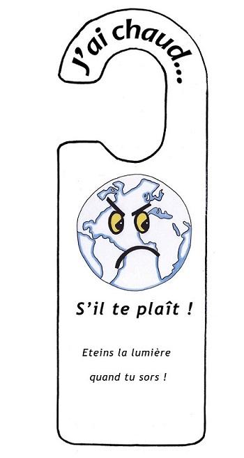 Un petit geste pour la Planète