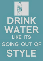 Drink water, www.healthyfitfocused.com